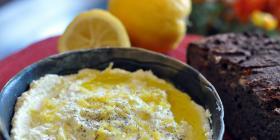 tartinade feta & citron