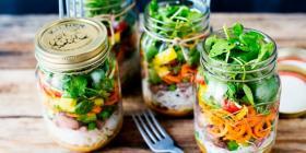 La petite salade composée du jour