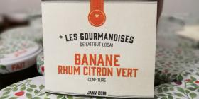 Confiture Banane Rhum Citron Vert
