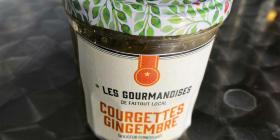 Douceur confiturée Courgette-citron-gingembre