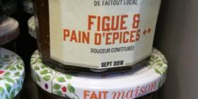 Douceur Confiturée Figue Pain d'Epices