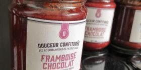 Douceur confiturée framboise chocolat