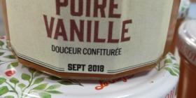 Douceur confiturée poire Vanille