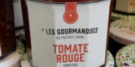 Confiture de tomate rouge