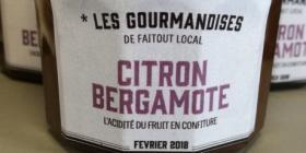 Confiture Citron Bergamote
